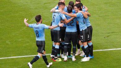 uruguai russia 390x220 - Uruguai vence a Rússia por 3 a 0 e fica em primeiro no grupo A