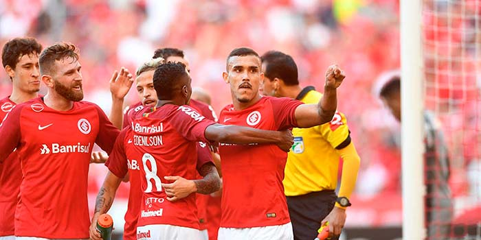 Inter bate o Botafogo 1 - Inter derrota o Botafogo por 3 a 0 no Beira-Rio