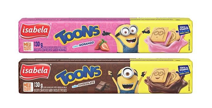 Toons Isabela  - Toons é a nova linha de biscoitos da Isabela