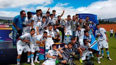 campea o da copa mitad del mundo sub 18 no equador 390x220 - Grêmio é campeão da Copa Mitad Del Mundo Sub-18 no Equador
