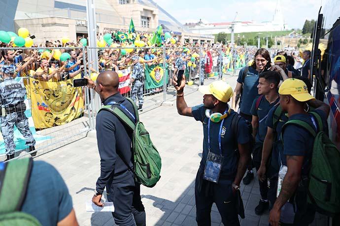 kazan2 - Seleção Brasileira já está em Kazan para o jogo contra a Bélgica