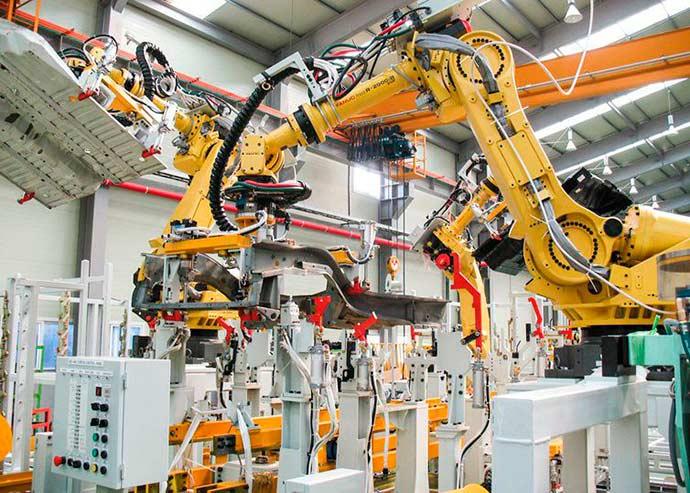 robos industriais - Profissões que estão surgindo com a indústria 4.0