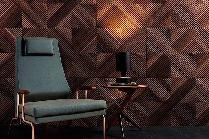 tavola - Mesas de madeira inspiram criação de porcelanato