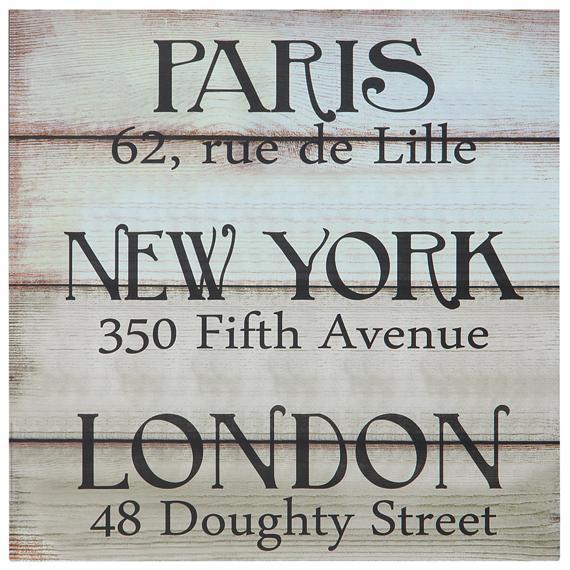 345080 820628 paris  ny   london placa decor. 30x30 web  - Tok&Stok faz liquidação até 01 de outubro