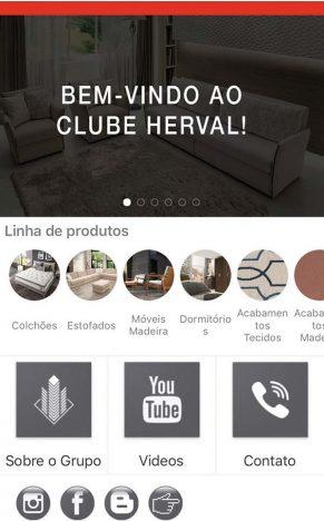 Aplicativo Clube Herval atende o público especificador 291x468 - Herval cria aplicativo para o público profissional