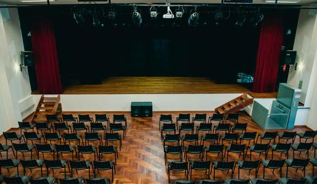 Auditório multiuso terá capacidade para 128 pessoas - Casa das Artes de Novo Hamburgo abre em setembro