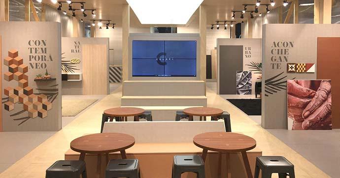 Coleção Origens Berneck - Berneck apresenta nova coleção de melaminas BP na High Design Expo