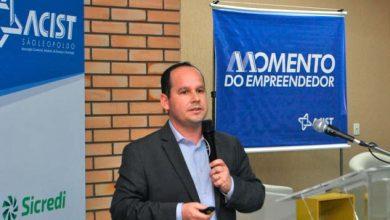 Fernando Ribas VP Industria 390x220 - ACIST-SL lança relatório da atividade econômica de São Leopoldo