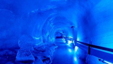 Glacier Cave 390x220 - Monte TITLIS é opção nos Alpes suíços