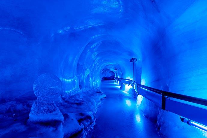 Glacier Cave - Monte TITLIS é opção nos Alpes suíços