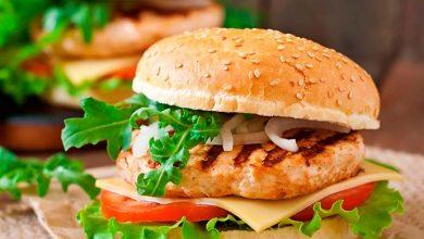 Hamburguer de frango picante 390x220 - Hambúrguer de Frango Picante