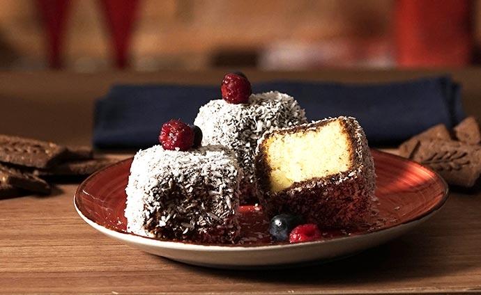 Lamington Cake Australia Adria Plus Life - Lamington Cake