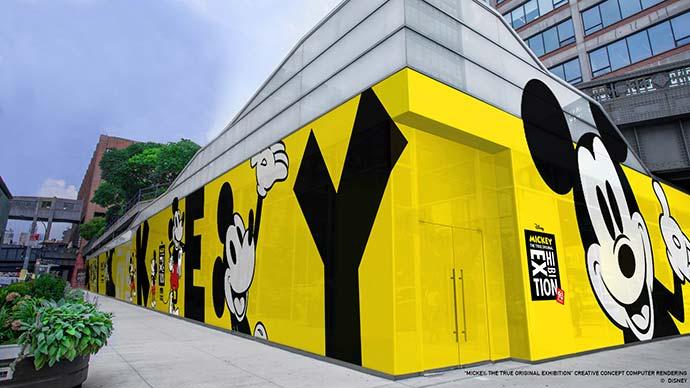 MTO Exterior - Disney - Mickey 90 anos terá mostra de arte interativa