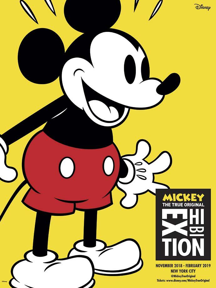 Mickey The True Original Exhibition - Disney - Mickey 90 anos terá mostra de arte interativa