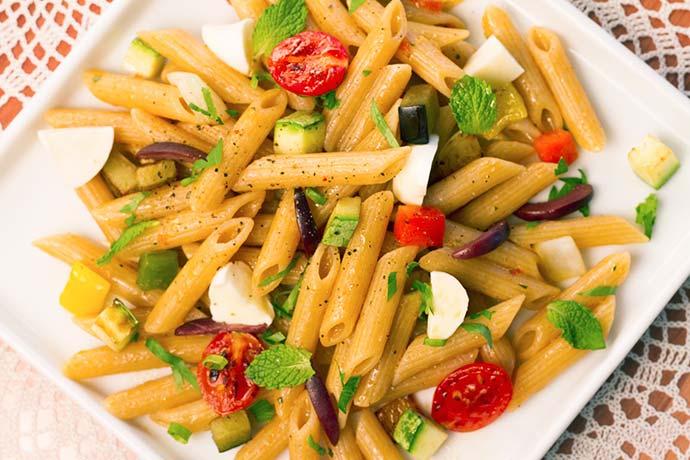Pennette Integrale com ragú de legumes - Pennette Integrale com ragú de legumes
