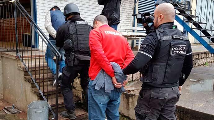 Polícia Civil RS - RS: Operação da Polícia Civil desarticula quadrilha que assaltava bancos e lotéricas