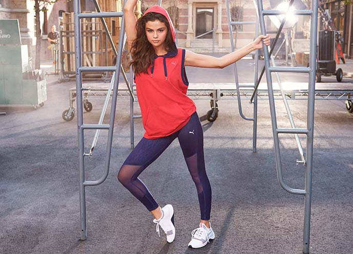 Selena Gomez - PUMA: Selena Gomez lança novo AMP XT