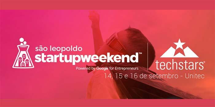 Startup Weekend São Leopoldo - Startup Weekend São Leopoldo ocorre em setembro, no Tecnosinos