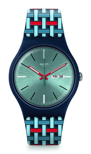 Swatch 6 - Swatch apresenta sua nova linha com pegada futurista
