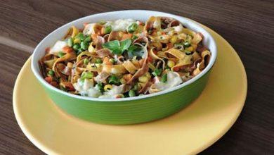 Talharim 390x220 - Talharim com cenoura, vagem, milho e brócolis