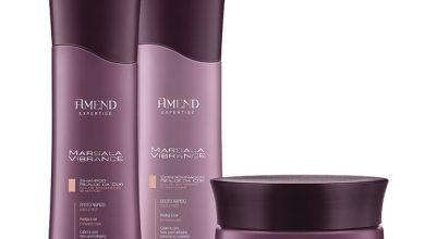 amend marsala vibrance 390x220 - Amend lança o Shampoo e Condicionador Marsala Vibrance