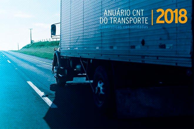 anuario 2018 rodoviario - Somente 12,4% da malha rodoviária brasileira é pavimentada