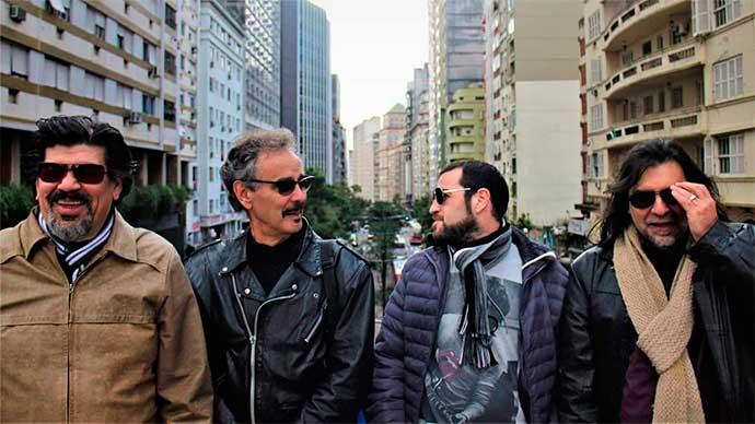 banda los bravos - Teatro de Arena: banda Los Bravos faz tributo ao rock argentino
