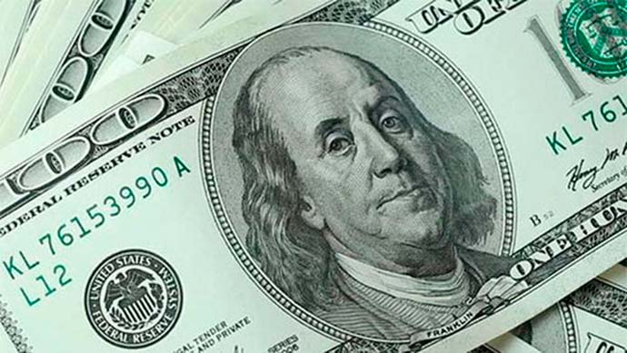 dolar5 - Dólar fecha o dia cotado a R$ 4,1230