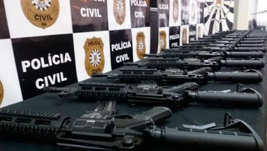 fuzis Policia civil 390x220 - Instituto Cultural Floresta doa fuzis para a Polícia Civil gaúcha