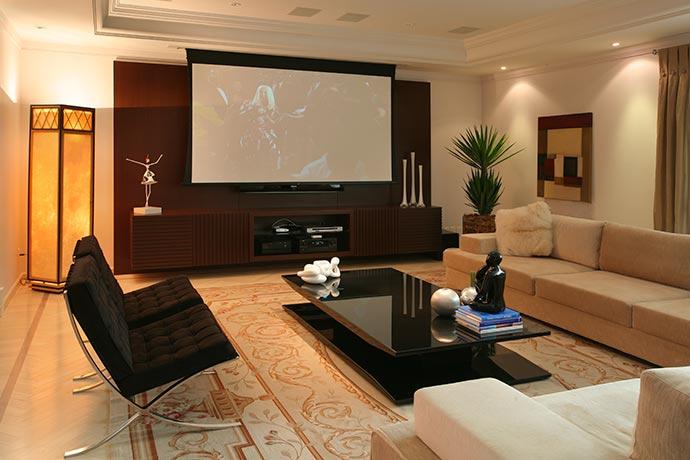 home theater1 - Home theater em quatro projetos