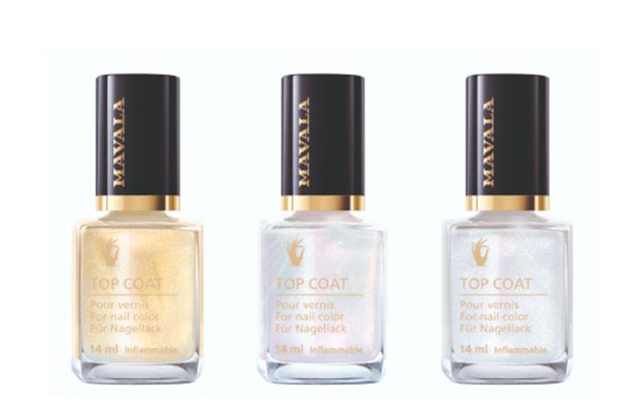 mavala - Mavala lança três novas cores de Top Coat