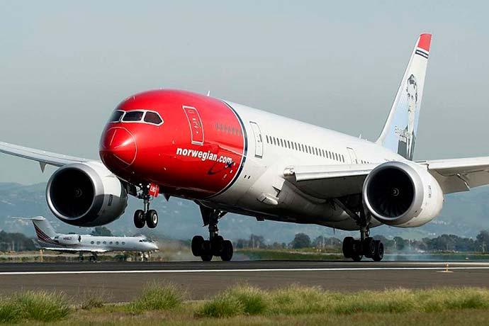 norwegian air - Norwegian Air deverá operar voos para São Paulo, Riode Janeiroe Fortaleza