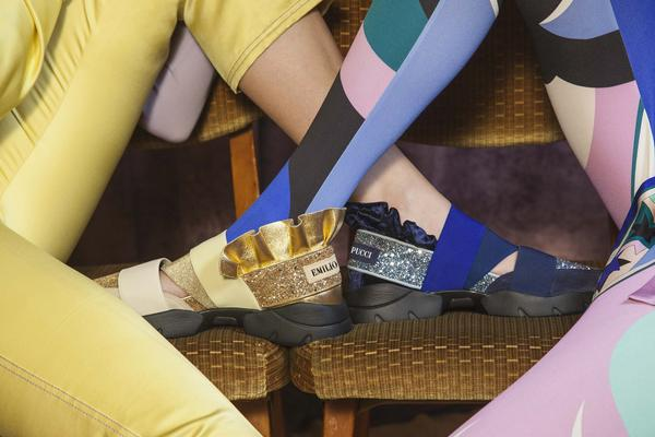 sneaker Pucci - Emilio Pucci apresenta sneakers Pucci Night