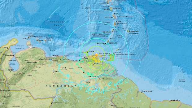 venezuela - Venezuela é atingida por novo terremoto de magnitude 5,7