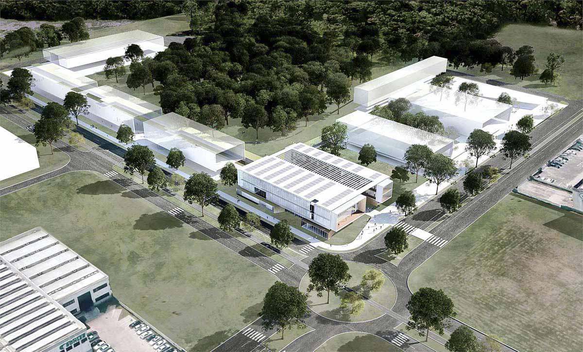 01 CONJUNTO ZTQ - Obras aceleradas no Ágora Tech Park emJoinville - SC