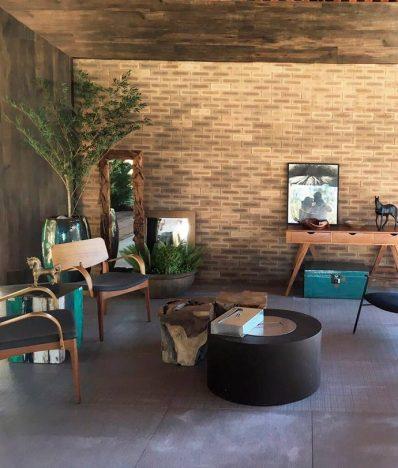 Arq. Gabriella Borges Brick Ocre Nina Martinelli 398x468 - Nina Martinelli apresenta brick com produção sustentável