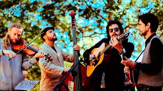 Conjunto Bluegrass Portoalegrense - Aniversário da Casa de Cultura Mario Quintana terá shows especiais
