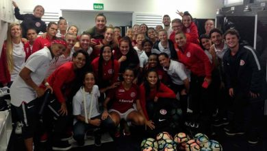 Equipe colorada teve grande atuação em jogo válido pelo Campeonato Gaúcho de futebol feminino 390x220 - Gurias Coloradas goleiam o Ijuí por 12 a 0
