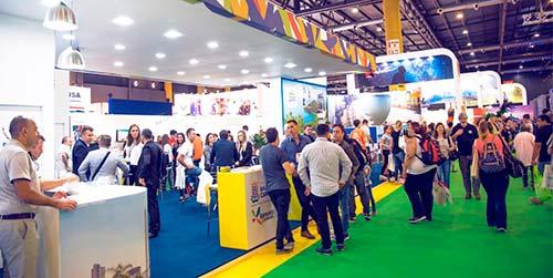 Estande do projeto na FIT do ano passado - Trade de BC e Região terá estande na principal Feira de Turismo da América Latina