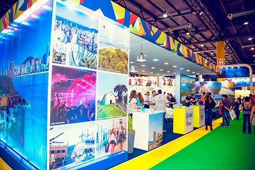 Estande do projeto na edição 2017 da FIT - Trade de BC e Região terá estande na principal Feira de Turismo da América Latina
