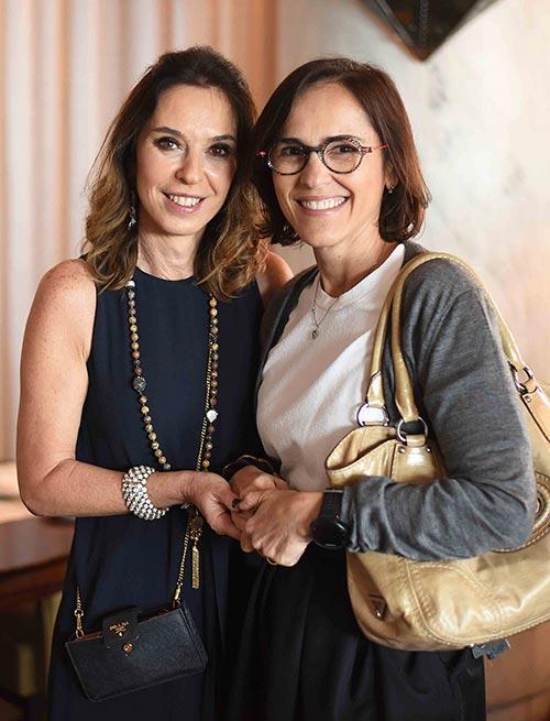 Esther Schattan e Gisele Taranto 02 - Ornare faz almoço especial na abertura da CASACOR Rio