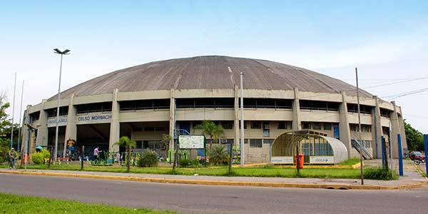 Ginasio Municipal de São Leopoldo - Registro de Acidentes de Trânsito volta ao Ginásio