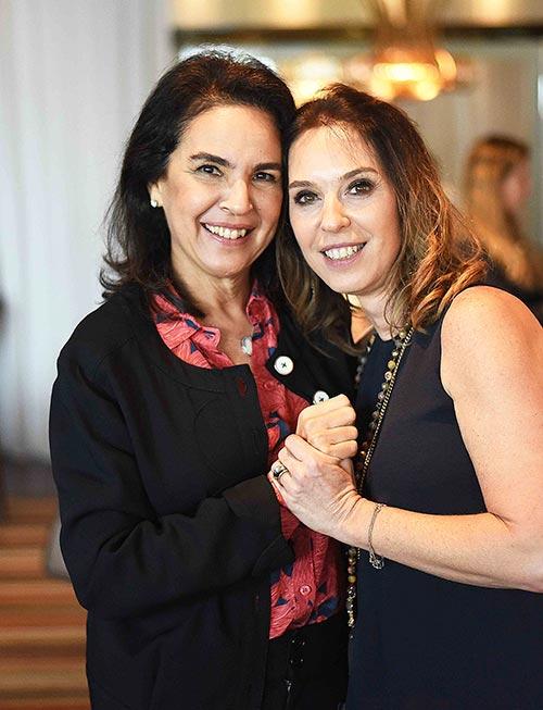 Joy Garrido e Esther Schattan - Ornare faz almoço especial na abertura da CASACOR Rio