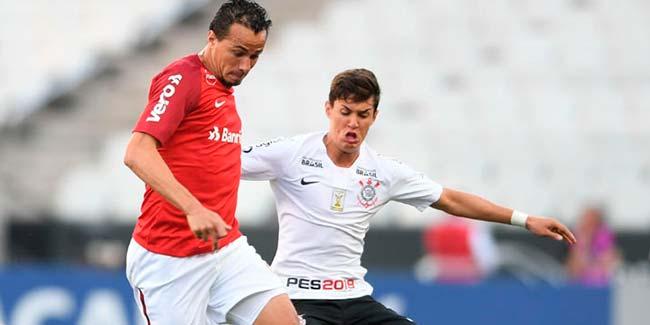 Leandro Damião marcou no empate em 1 a 1 - Corinthians e Inter empatam pelo Brasileirão
