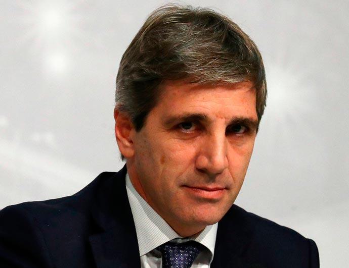 Luis Caputo - Presidente do Banco Central da Argentina renuncia ao cargo