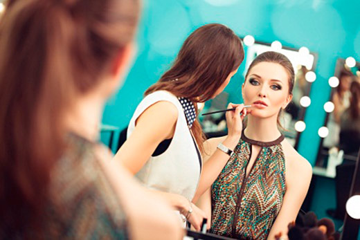 Maquiagem 02 - Senac Novo Hamburgo promove o I Fashion Day
