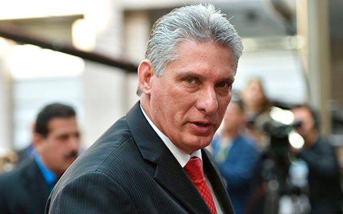 Miguel Díaz Canel - Cuba quer negociar acordos com União Europeia
