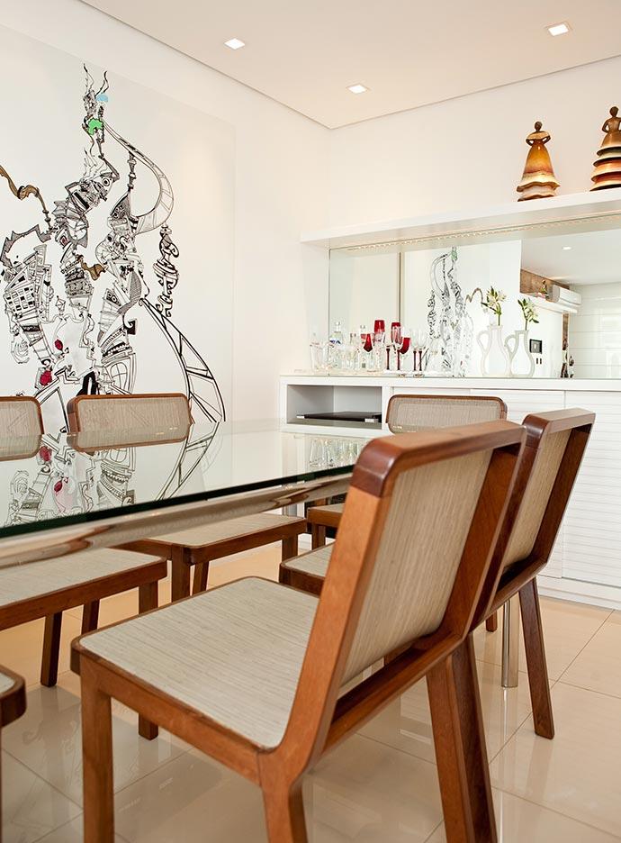 Projeto Nicole Finkel - Arquiteta Nicole Finkel revela como ter uma sala de jantar acolhedora