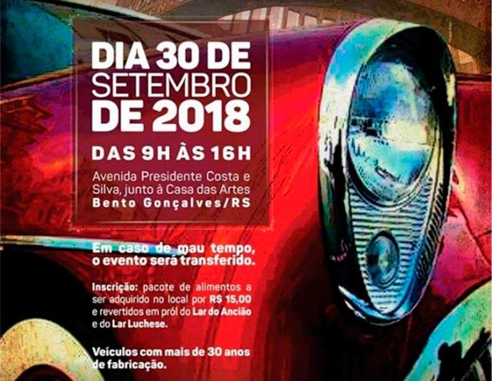 Veteran Car Club dos Vinhedos - Encontro de carros antigos acontece neste domingo em Bento Gonçalves