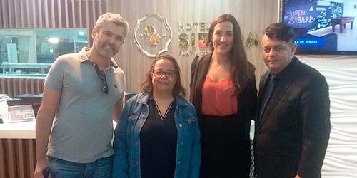 Visita técnica ao Sibara que sediará o XVIII Brazil Mrs Meeting - Mais dois grandes eventos para Balneário Camboriú em 2019